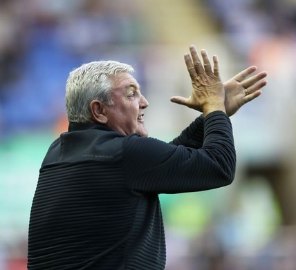 Treading water - starring Steve Bruce