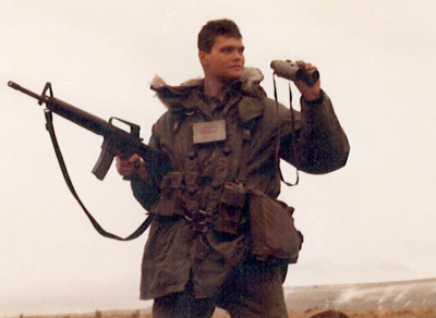Jim St. James in the U.S. Army