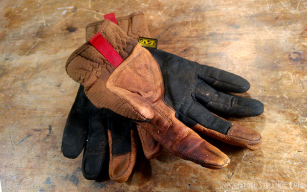 Work Gloves c. Jim St. James
