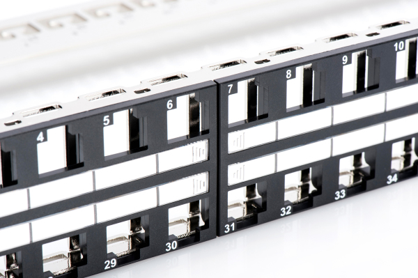 Patch Panel, blindado, 48 puertos