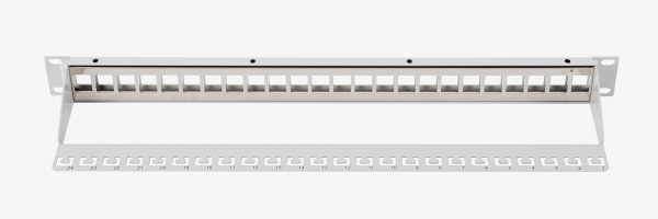 Patch Panel, blindado, 24 puertos
