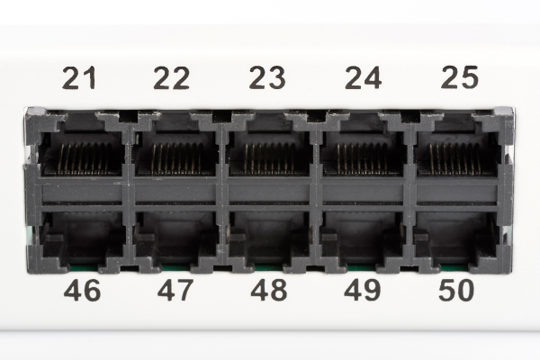Patch Panel 50 puertos LSA - CAT 3 - 1U - Sin Blindaje - DN-91350-1