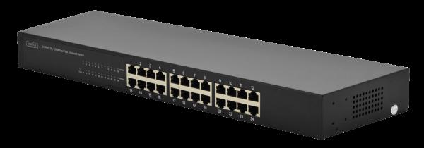 Interruptor Fast Ethernet sin administrar N-Way de 24 puertos