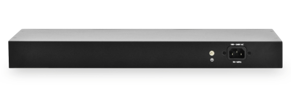 Switch profesional gestionado Gigabit Ethernet - 16 puertos - 2 puertos SFP - DN-80211-1