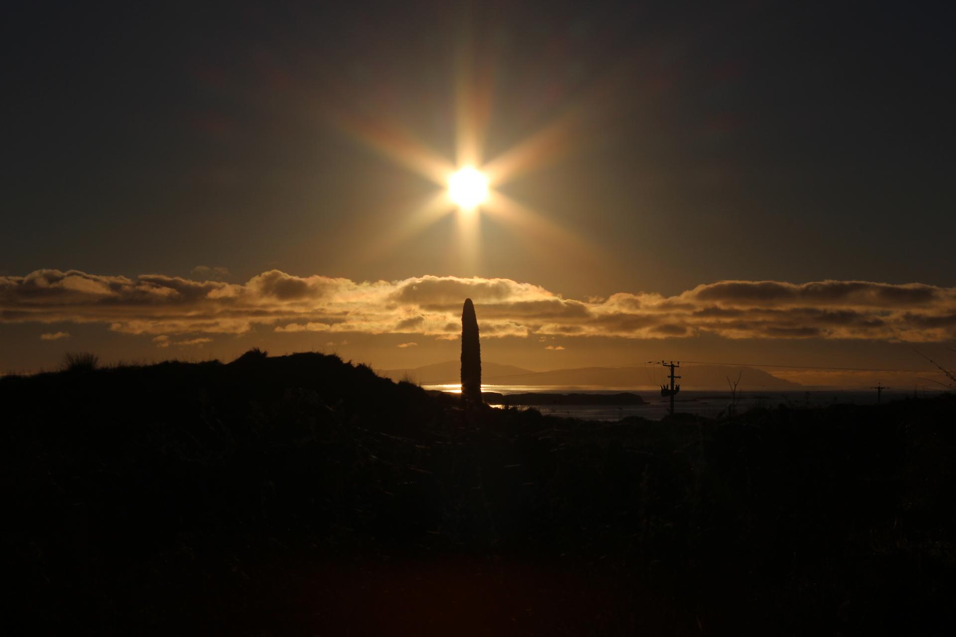 Sunset at Port Ellen