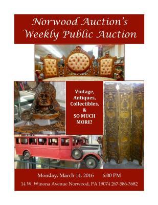 Huge Norwood Auction