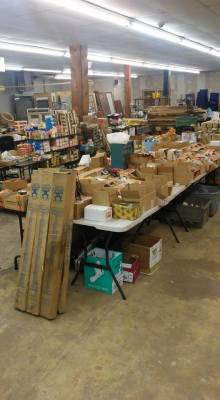 Tools & Lumber Auction