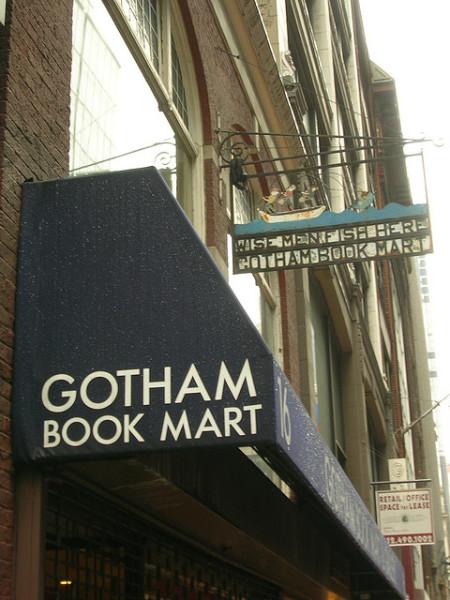 Gotham Book Mart Book Sale