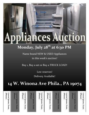 Monday Night Auction