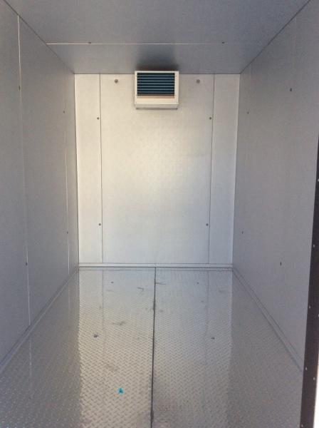6x12 walk in cooler rental inside