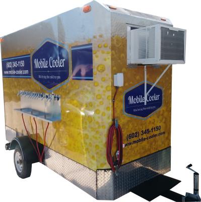 walk in cooler rental trailer