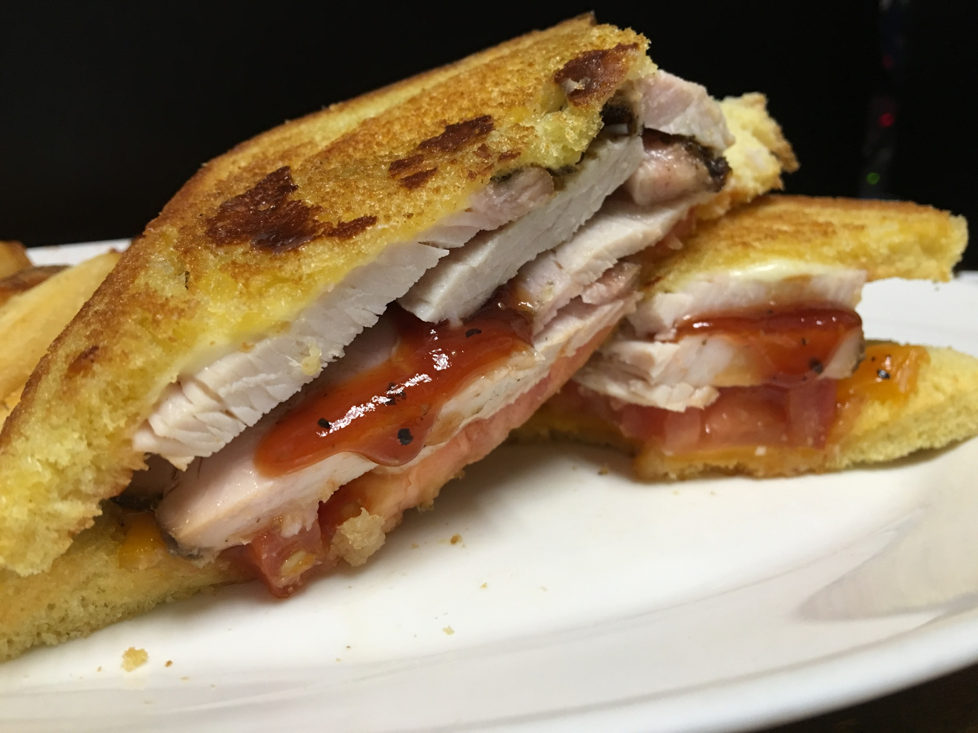 Barbecue Turkey Melt