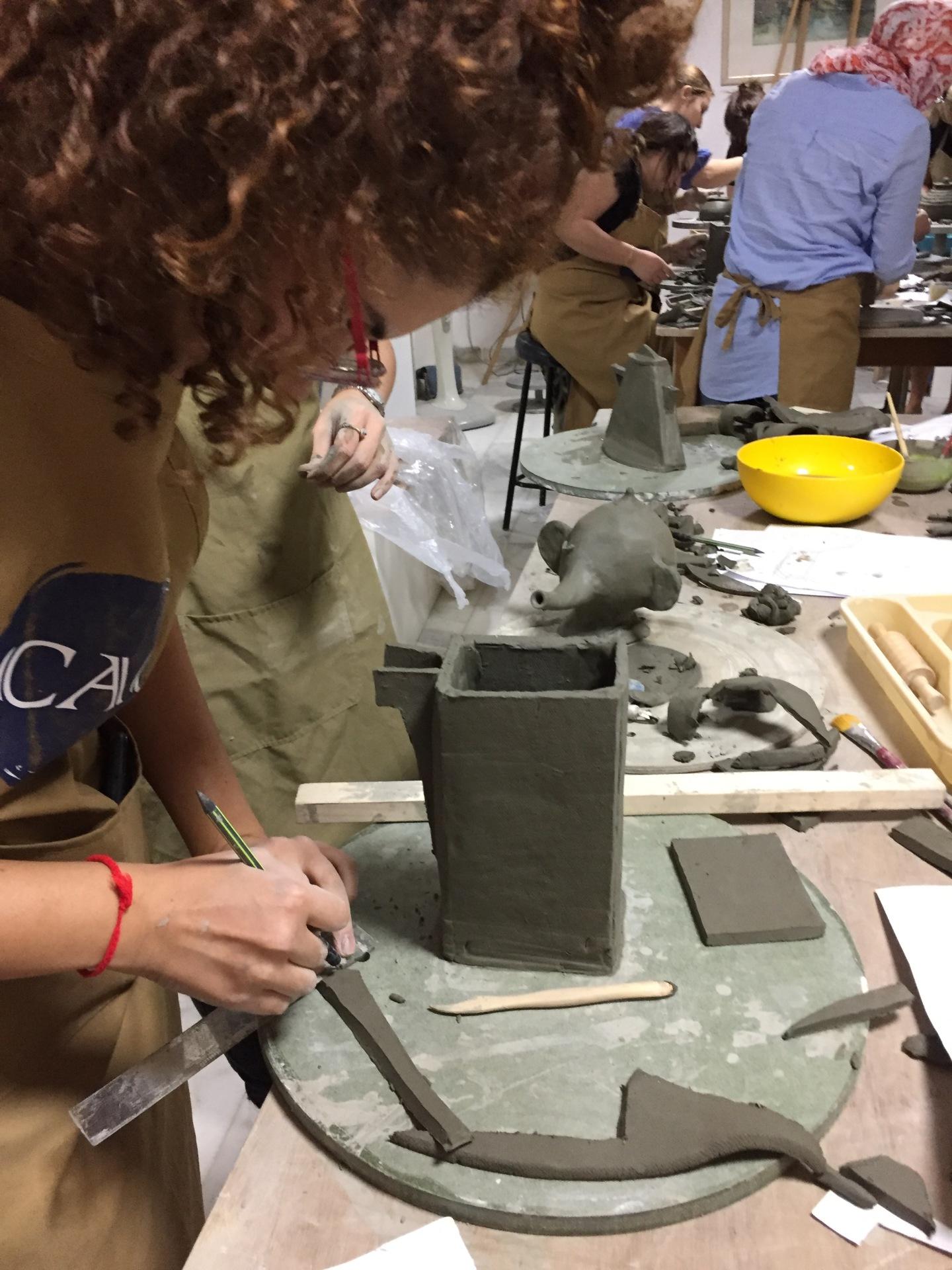 #saturdaynightpottery #pottery #cacamman #artclass #caramics #thursdaynightpottery