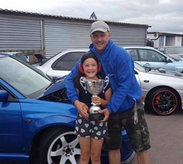 Owner Jason with daughter Libby