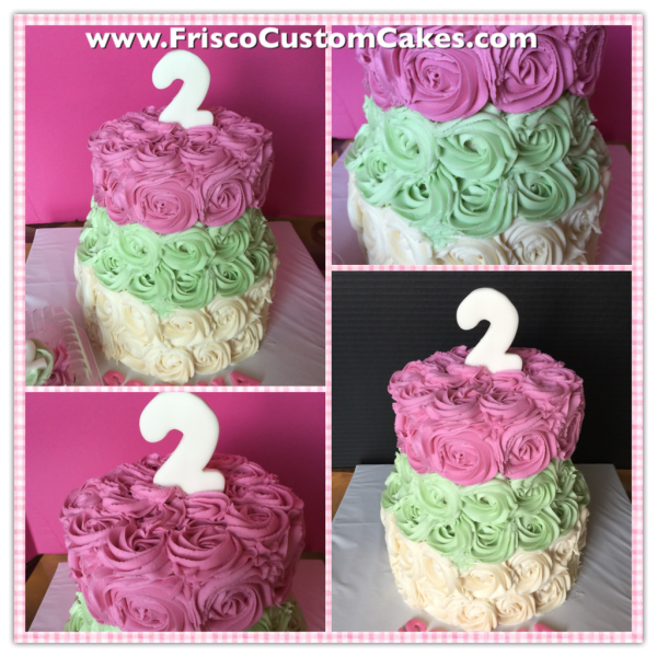 Floral Buttercream 2/tier