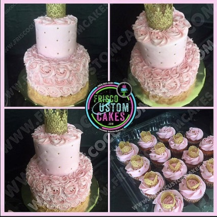 Soft Pink Buttercream