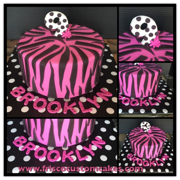 Pink Purple Zebra