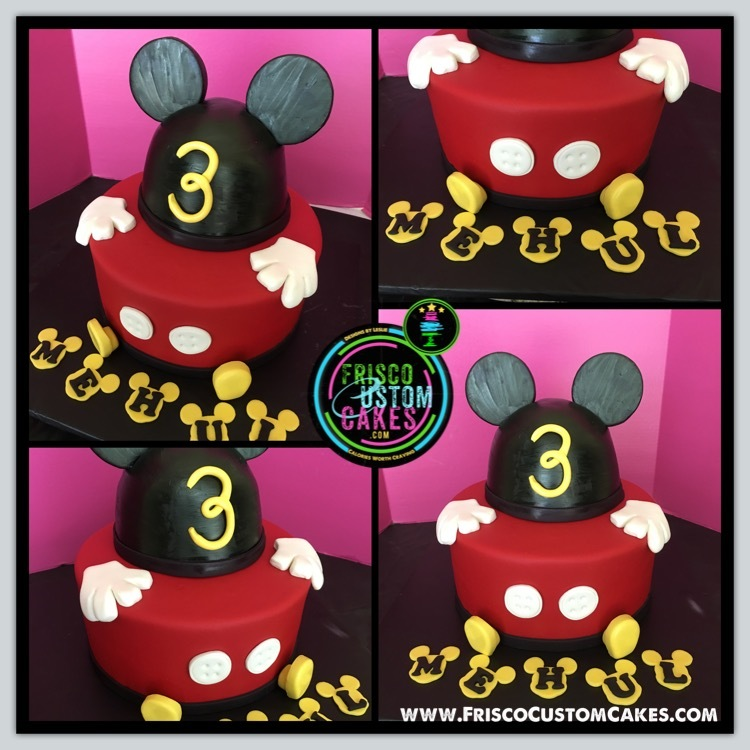 Mickey Mouse Head & Hands