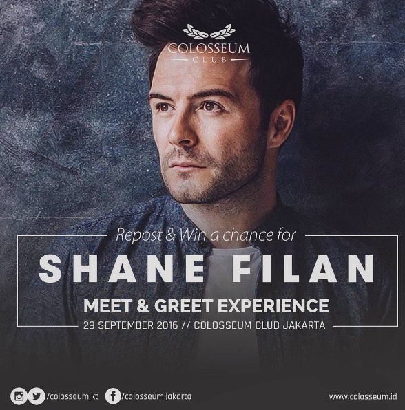 Win a chance for Meet and Greet experience - Jakarta