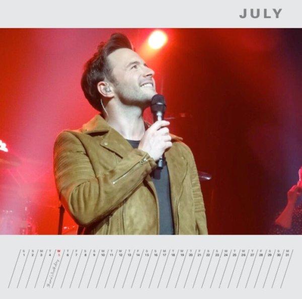 Shane Filan Calendar Preview