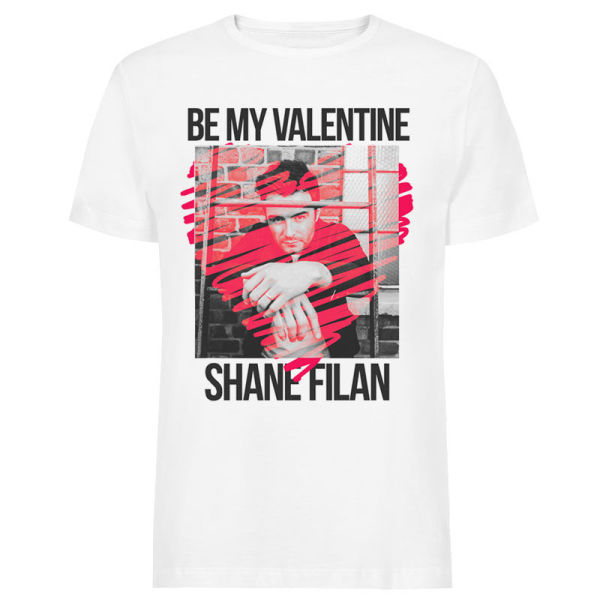 Be My Valentine T-shirt and Valentine's day card