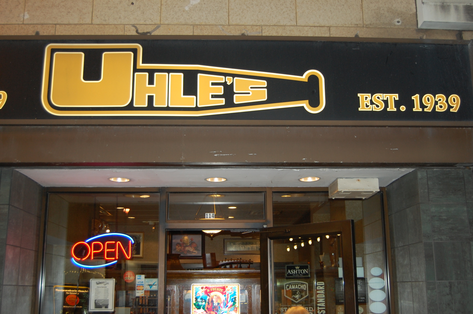 Uhle Tobacco Door Milwaukee