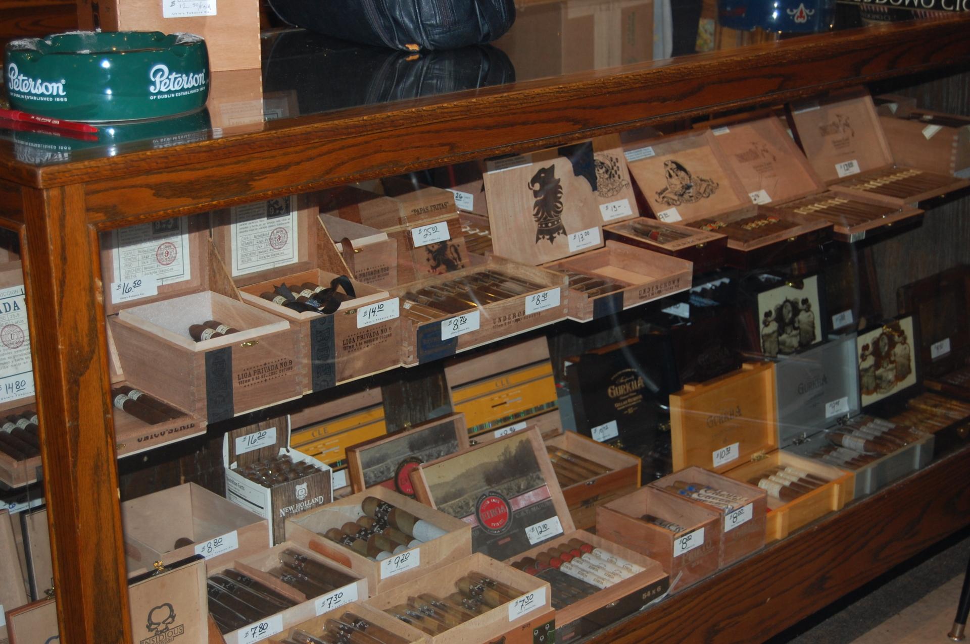Premium Cigar Selection