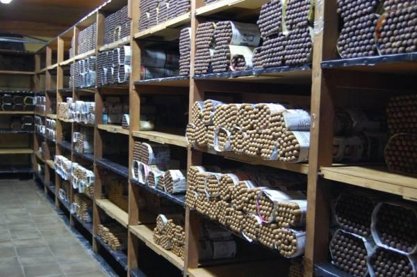 Perdomo Cigars Aging Room
