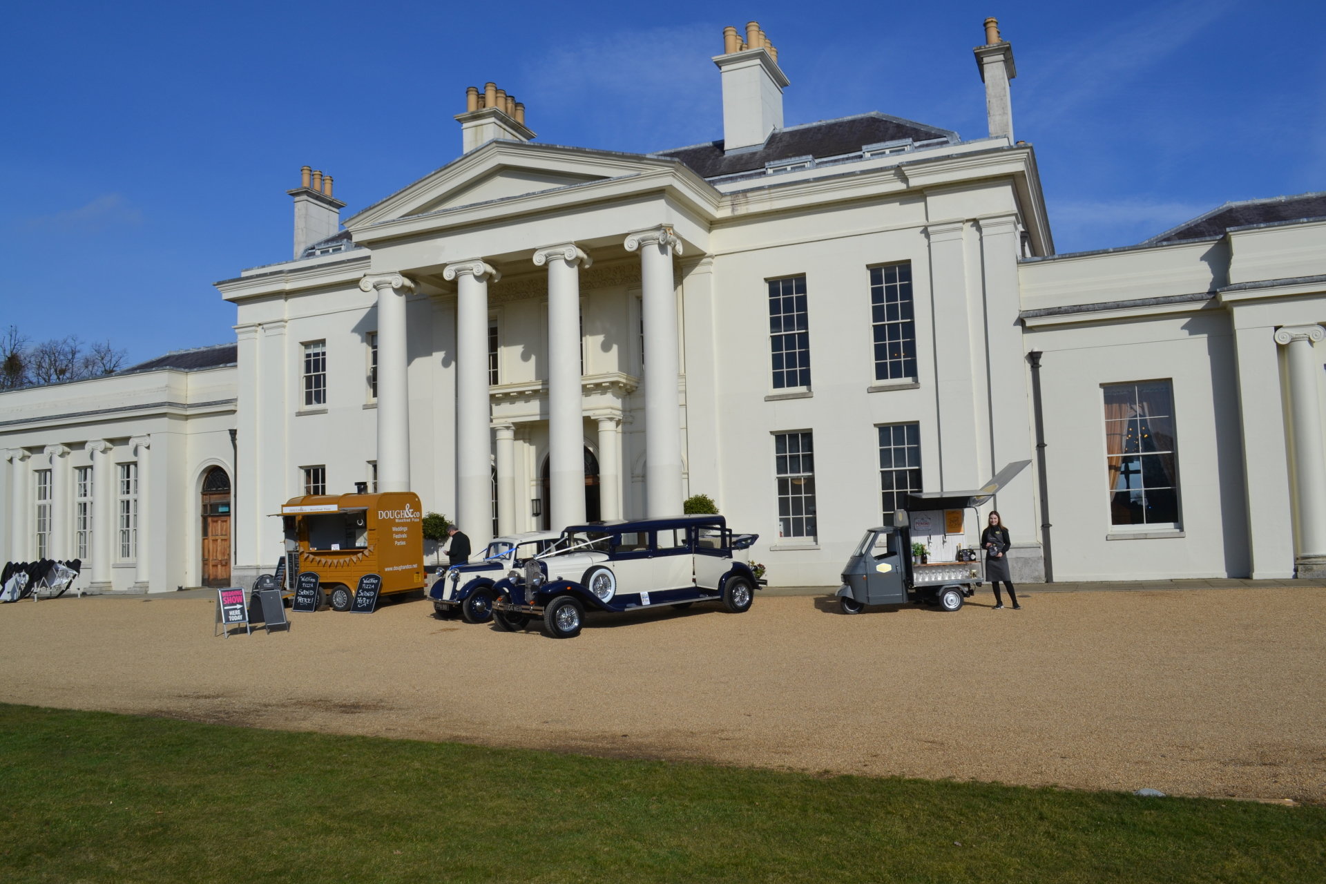 Piccolo Furgone at Hylands House