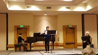Masterclass at Florida Flute Convention with Leone Buyse