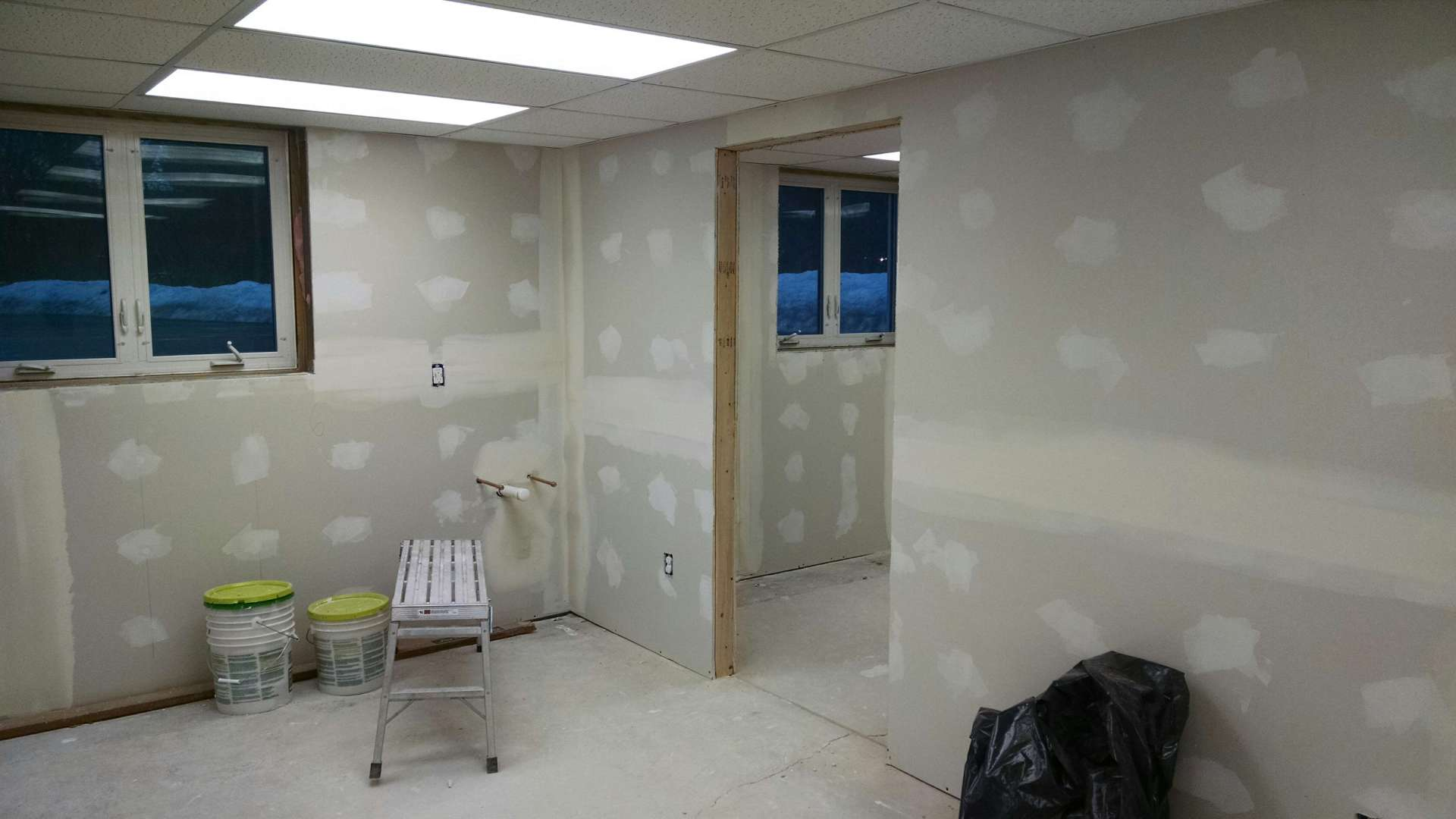 BEFORE - OFFICE SPACE REMODEL