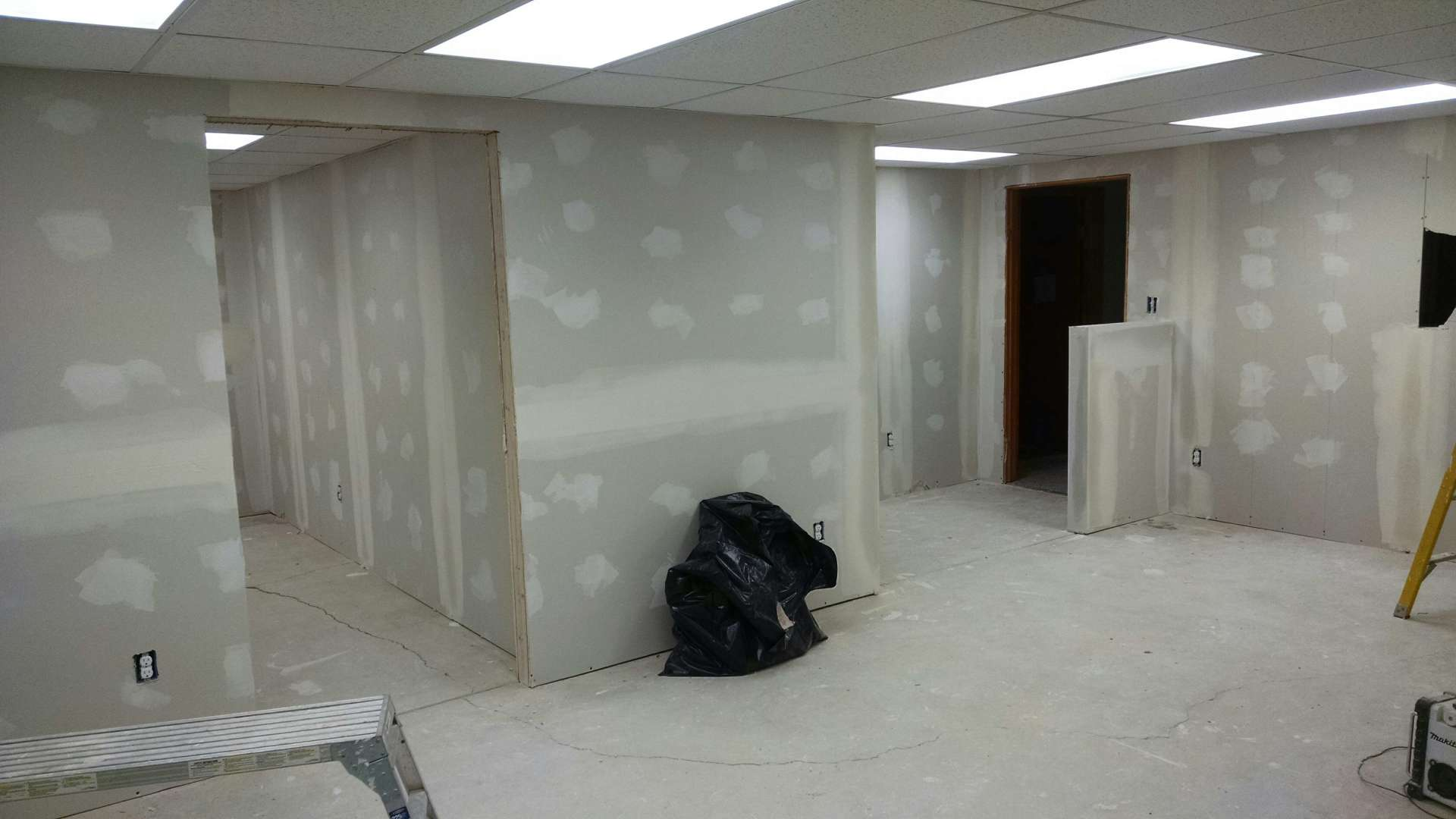 Interior Office Construction