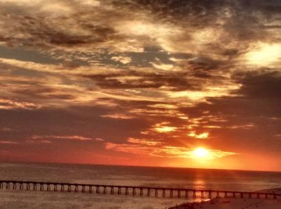 Gorgeous Sunset over Pensacola Beach
