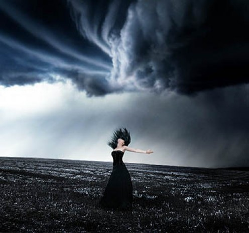 The storm within