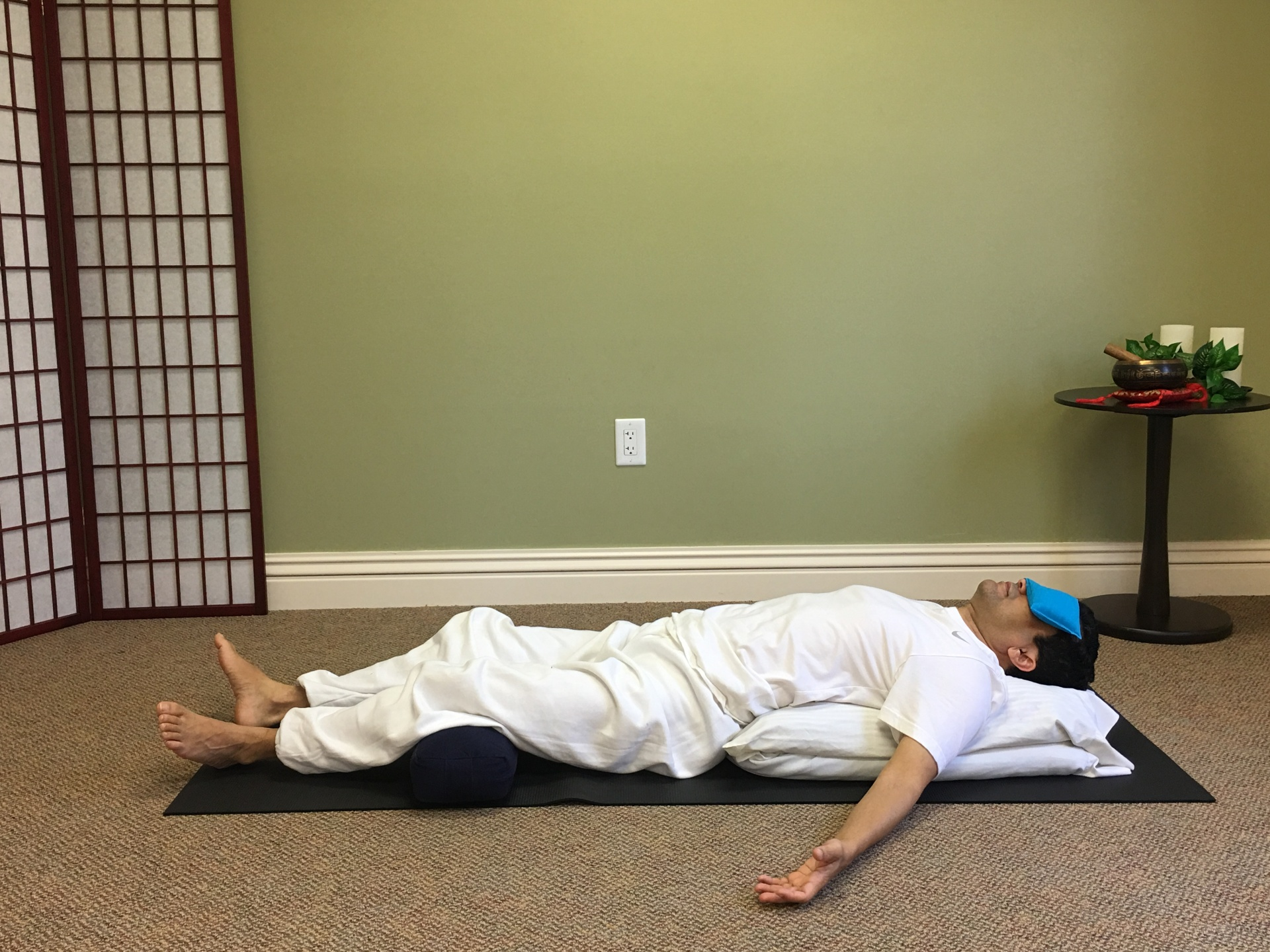 3 Restorative Yoga Poses for Back Pain Relief Before Going to Bed