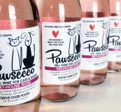 Pawsecco  wine for your cats and dogs