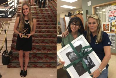 Pathfinder Winners: Stephanie Cornwell and Julia Lopes