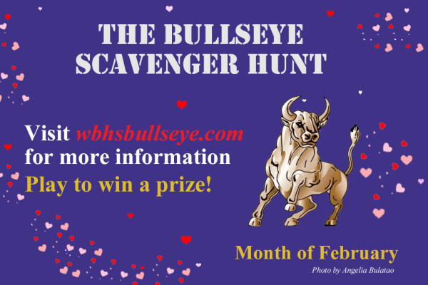 February Scavenger Hunt 2017