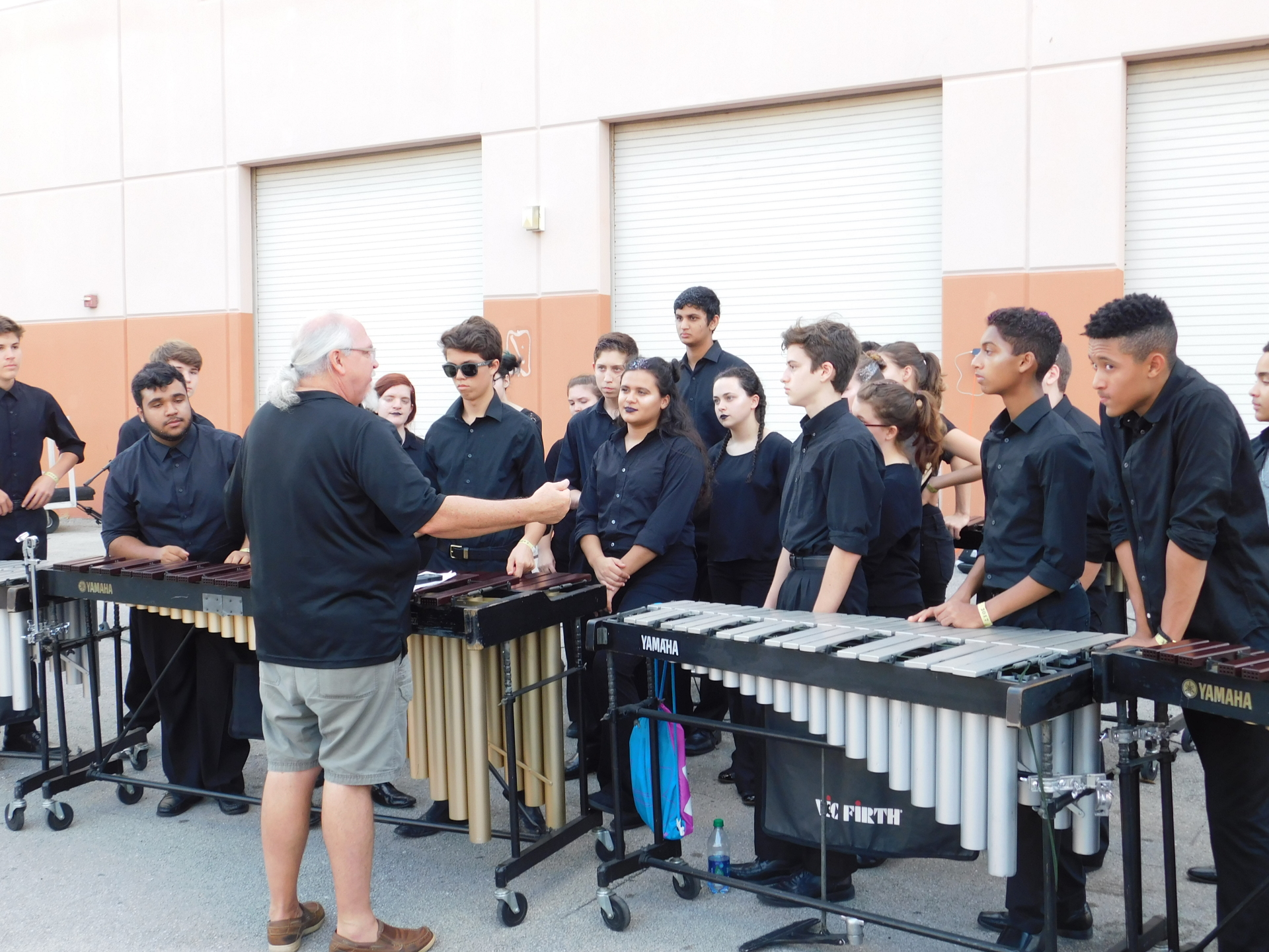West Boca Winter Percussion at John I Leonard High School| Meghan Zaffuta