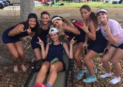 District Champs: Girls' Tennis Team