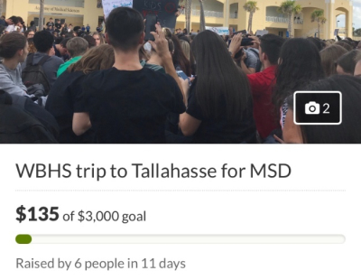 West Boca's Selfish Go Fund Me