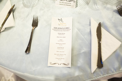 The King's Table Plate Sponsor