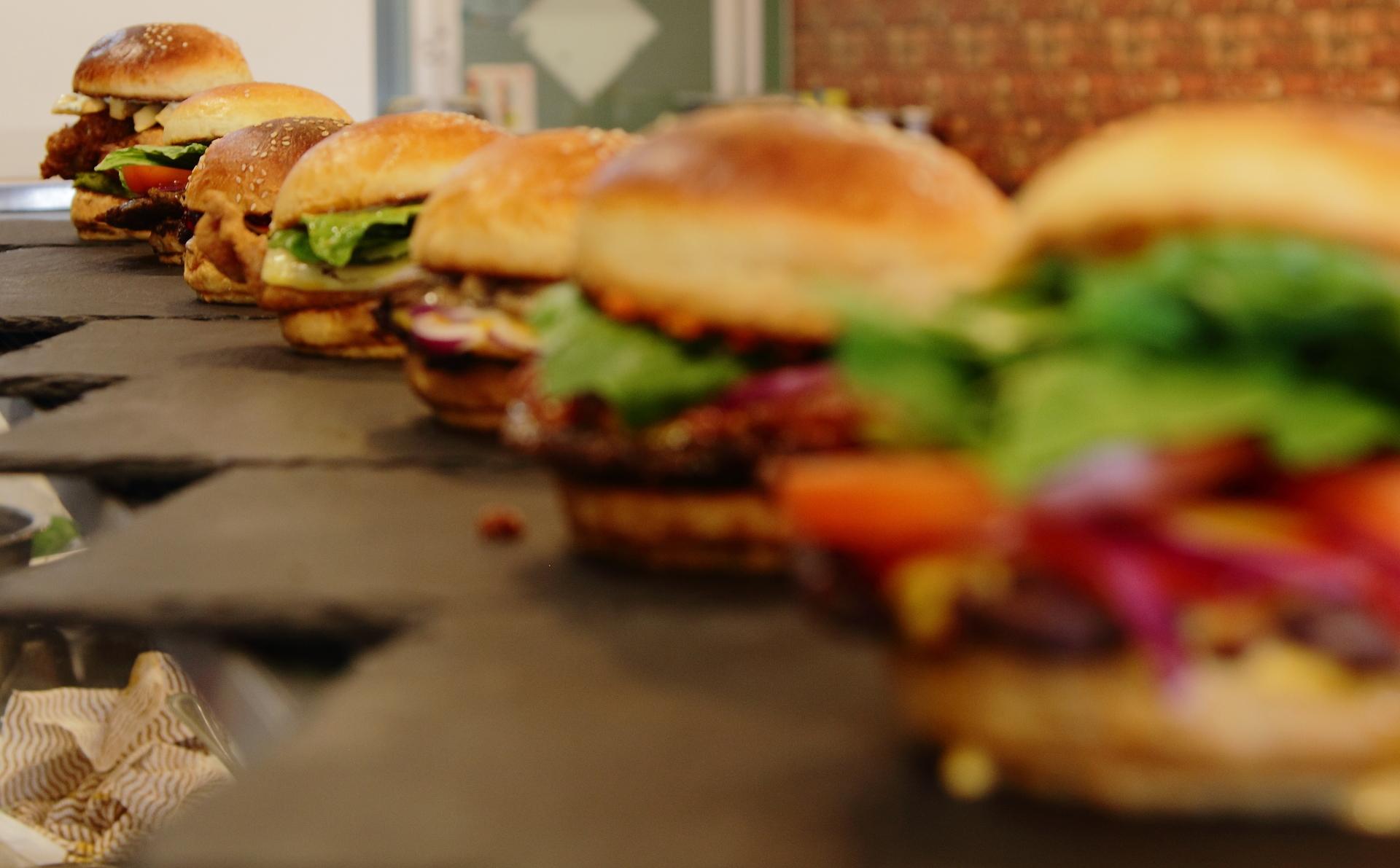 best burgers, halal