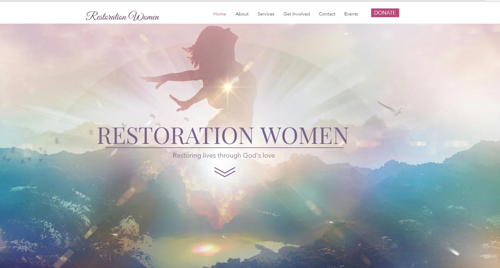 restoration women non profit Williamsburg VA