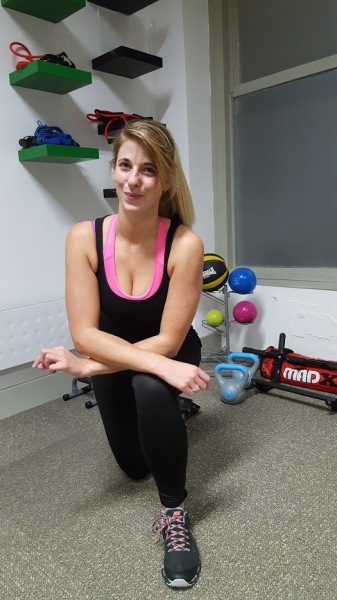 Gabby Briggs personal trainer eastbourne