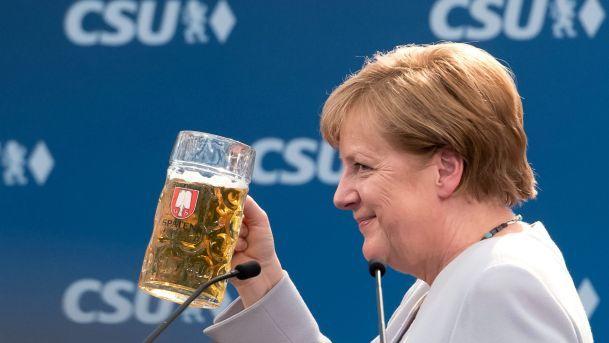 Merkel's being dishonest