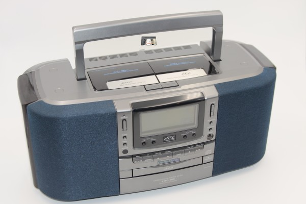 Panasonic Boombox RX-DD1 User Manual