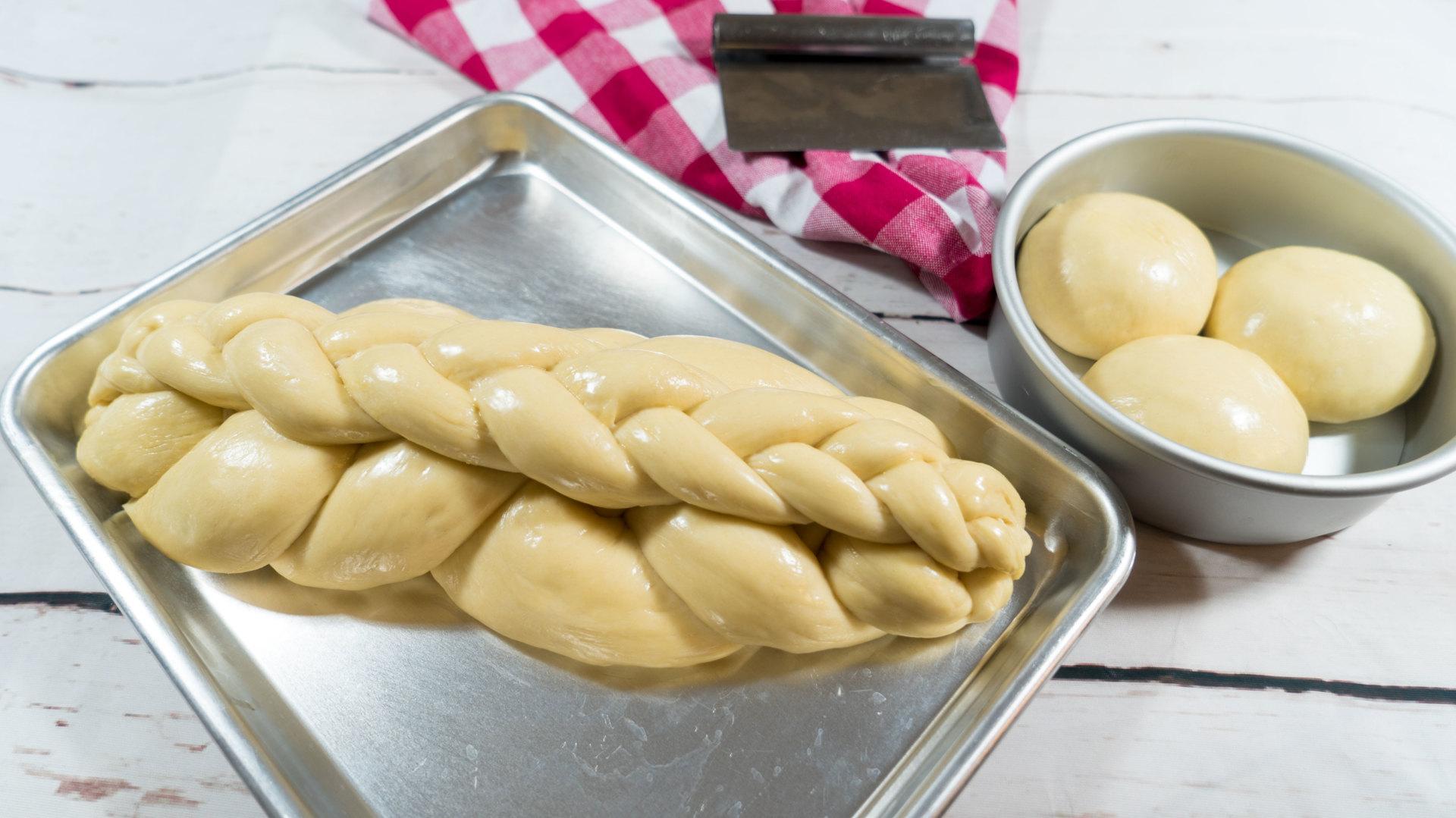 Guyanese Plait Bread