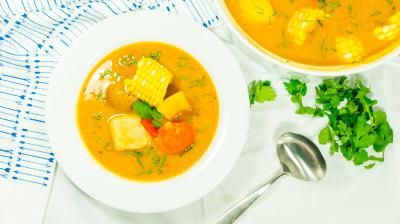 Trinidadian Corn Soup