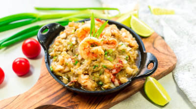Shrimp And Eggplant Choka